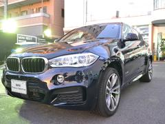 BMW X6xDrive 35iMsport 認定中古車黒革 サンルーフ