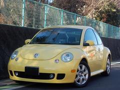 VW ニュービートルターボ 天張りOK 黒革 社外ナビ HID ETC