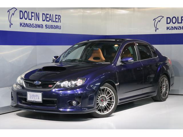 スバル WRX STI Aライン タンレザー・サンルーフ ナビ