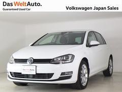 VW ゴルフTSIコンフォートライン コネクト 認定中古車 特別仕様車