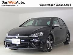 VW ゴルフRベースグレード NABI ETC Bカメラ DWA認定中古車