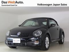 VW ザ・ビートル・カブリオレベージュレザー NABI ETC DWA認定中古車