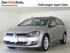 VW ゴルフヴァリアントTSIハイライン NABI ETC Bカメラ DWA認定車