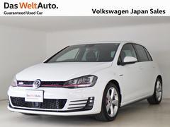 VW ゴルフGTIベースグレード NABI ETC Bカメラ DWA認定中古車