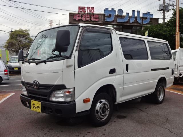 トヨタ 2t積載5ドア4.0Dターボ 5F SKG-XZC605V