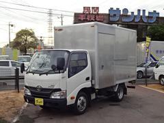 ダイナトラック2t積10尺4WD アルミバン 4.0Dターボ 5F