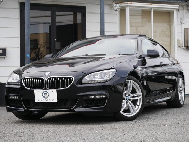 BMW 6シリーズ 640iグランクーペ Mスポーツ サンRLED...
