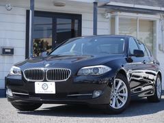 BMW523i ハイライン 後期EG 黒革 iストップ 2年保証