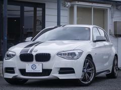BMWM135i 黒革 istop フルセグ Bカメラ 新車保証