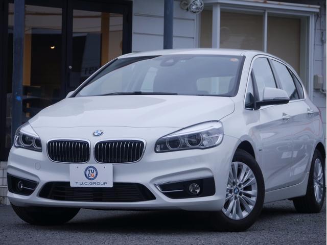 BMW 218dアクティブツアラー ラグジュアリー 1オーナ新車保証