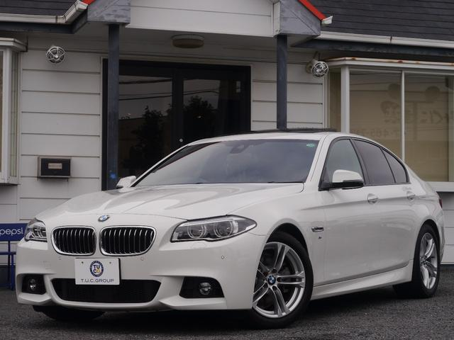 BMW 528i Mスポーツ SR黒革LEDヘッドACC 2年保証