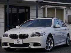 BMW535iツーリング Mスポーツ 1オナistopSR2年保証