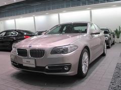 BMW523iラグジュアリー HDDナビ ACC 黒レザー