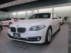 BMW523iラグジュアリー HDDナビ 衝突軽減