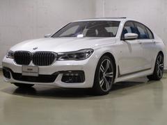 BMW740i Mスポーツ ブラックレザー サンルーフ 全国納車