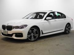 BMW740i Mスポーツ 全国2年保証 1オーナー SR ACC