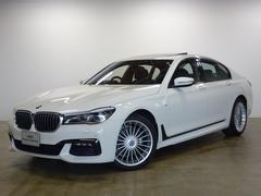 BMW740i Mスポーツ 全国2年保証 20AW 黒革 SR