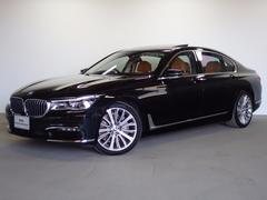 BMW740Li 全国2年保証 弊社デモカー ロングボディ SR