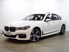 BMW750i Mスポーツ 20AW ACC LED ガラスSR