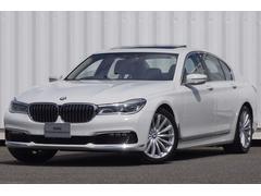 BMW750SR黒革19AWリモート駐車HUD自動縦列ナビ全カメラ