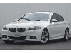 BMW523dMスポーツサンルーフACCウッド地デジ純ナビBカメラ