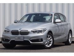 BMW118dスタイル2017型Pサポート白半革ナビカメラクルコン