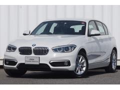 BMW118dスタイルパーキングサポート白半革LED純ナビBカメラ