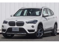 BMW X1sドライブ18xラインモカ革ヒート縦列駐車ウッドナビ18AW
