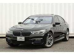 BMW740eMスポSRコニャック革4座ACヒーター縦列駐車HUD
