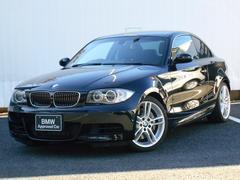 BMW135i黒レザーシート 18インチアロイホイール 純正HDD