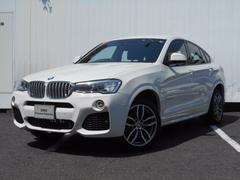 BMW X4xDrive 28i Mスポーツ 弊社デモカー 禁煙車 茶革