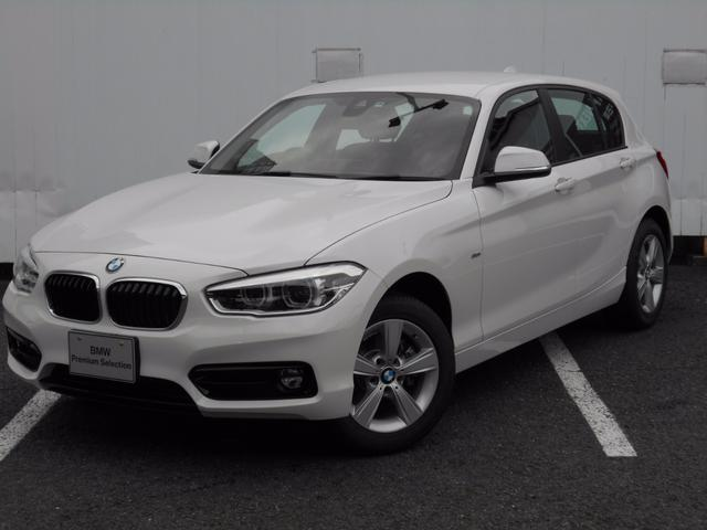 BMW 1シリーズ 118d スポーツ 弊社デモカー 禁煙車 ドラ...