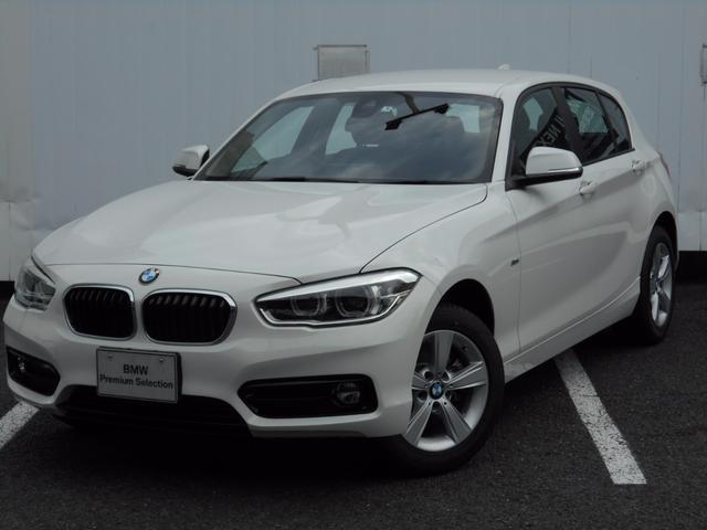 BMW 1シリーズ 118d スポーツ 弊社デモカー禁煙車 ドライ...