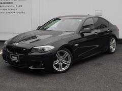 BMW528i Mスポーツパッケージ 黒レザー ガラスサンルーフ