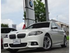 BMW523d Mスポーツ サンルーフ ウッドパネル 後期モデル