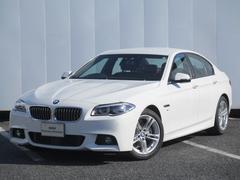 BMW523d Mスポーツ ハイライン LEDライト ブラウン革