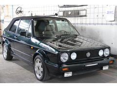 VW ゴルフカブリオレクラシックライン Goo鑑定車 ベージュレザー内装