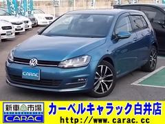 VW ゴルフTSIハイラインブルーモーションテクノロジーDCCパッケージ