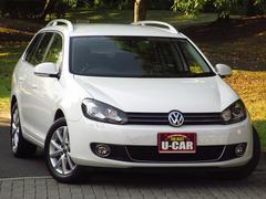 VW ゴルフヴァリアントTSI コンフォートライン ツインチャージャー 禁煙 HID