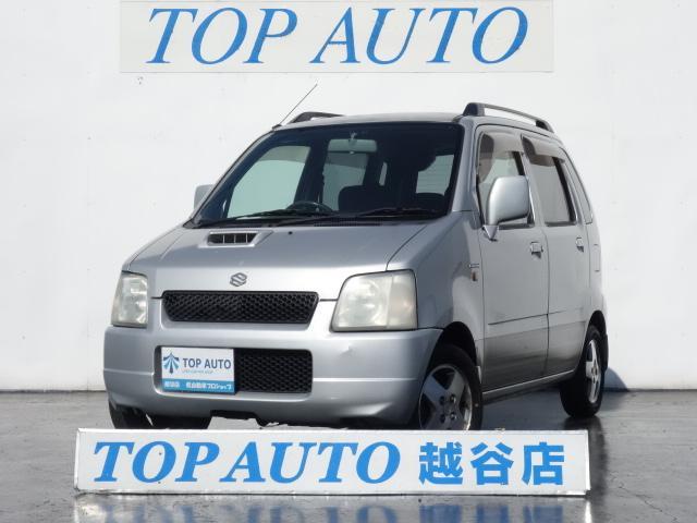 スズキ ワゴンR FX−T ターボ 4WD 純正アルミ 電動格納ミ...