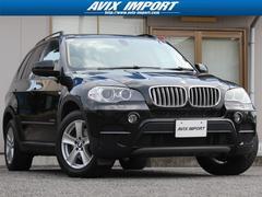 BMW X5xDrive 35i WSR ベージュ革 地デジトップビュ−