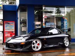 RX−7RB HDDナビ 車高調 雨宮エアロ 雨宮ホイール 雨宮車両