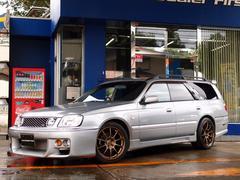 ステージア25t RS FOUR V HDDナビ 車高調 18AW