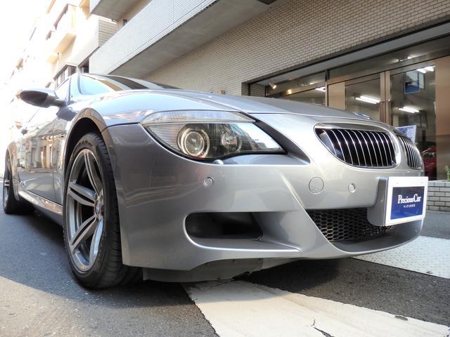 BMW E63 5・0 フルノーマル 左H 黒本革 屋内保管禁煙車