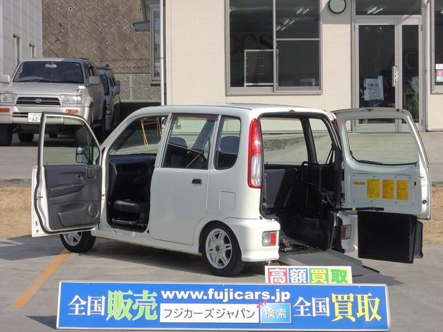 福祉車両 スロープ 助手席回転シート 社外ナビスロープ・助手席回転シート付きと充実したお車になります。