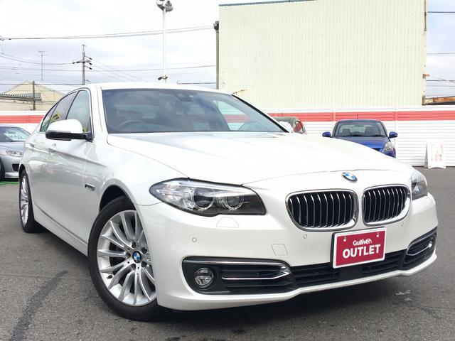 BMW 5シリーズ 523d ラグジュアリー 純正HDDナビ 本革...
