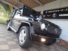 M・ベンツG500 ロング 正規D車 左ハンドル ナビTV