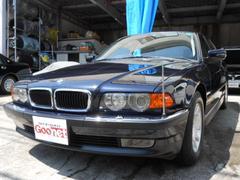 BMW735i 純正ナビ 革シート サンルーフ ETC HID