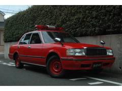 クラウン消防局払下げ車両 サイレンアンプ パトライト製散光燈
