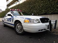 フォード クラウンヴィクトリアNYPD インターセプター ポリスPKG ユーザー買取車